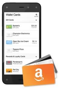 Amazon peněženka