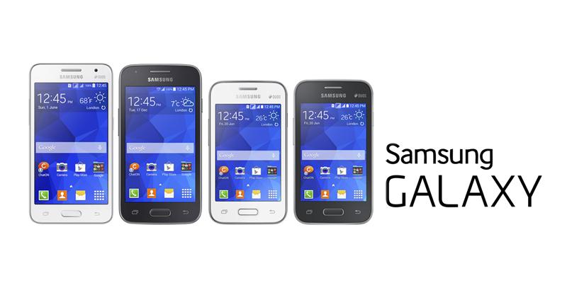 Samsung uvedl 4 cenově dostupné telefony [aktualizováno]