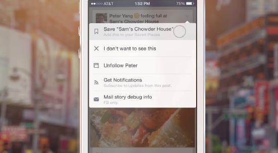 Facebook – příspěvky si budete moci uložit na později [Android, iOS, web]