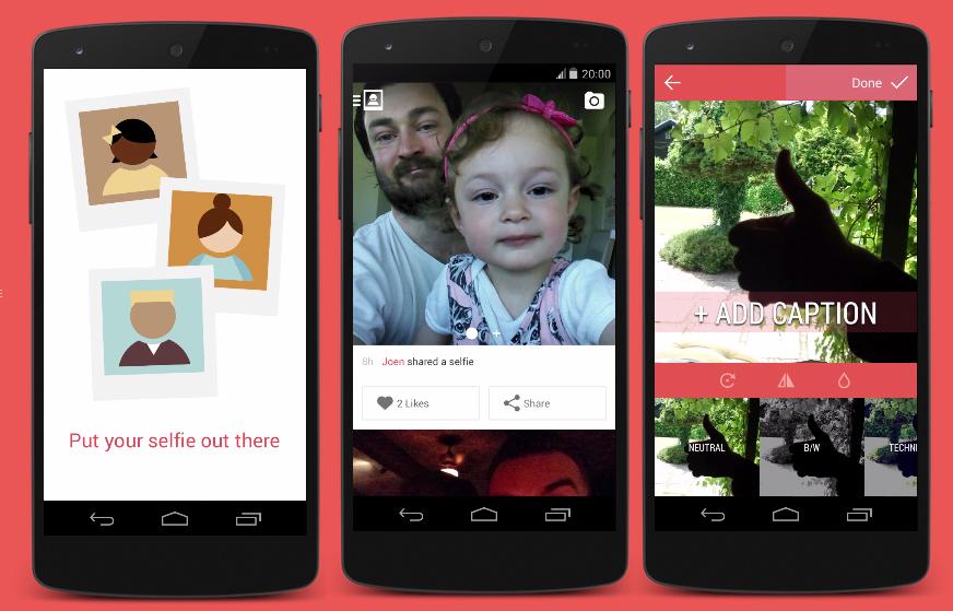 Selfies – nová sociální síť od tvůrců WordPressu
