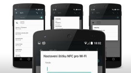 Android L – NFC využijete i u WiFi