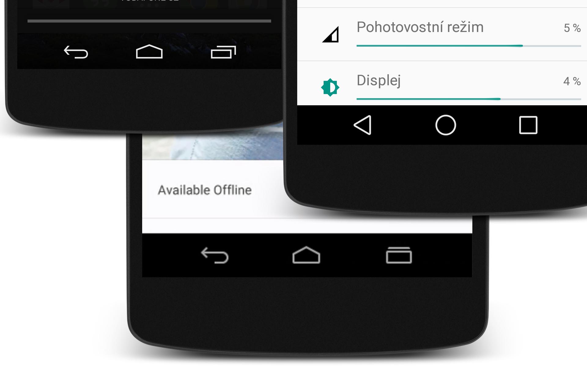 Trojúhelník, kolečko, čtvereček – tlačítka v Androidu L nemusí být finální