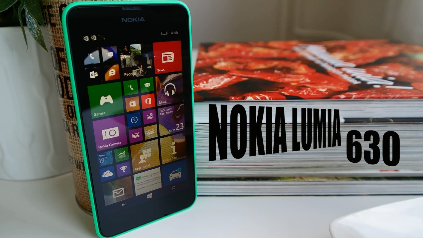 Nokia Lumia 630 – videopohled