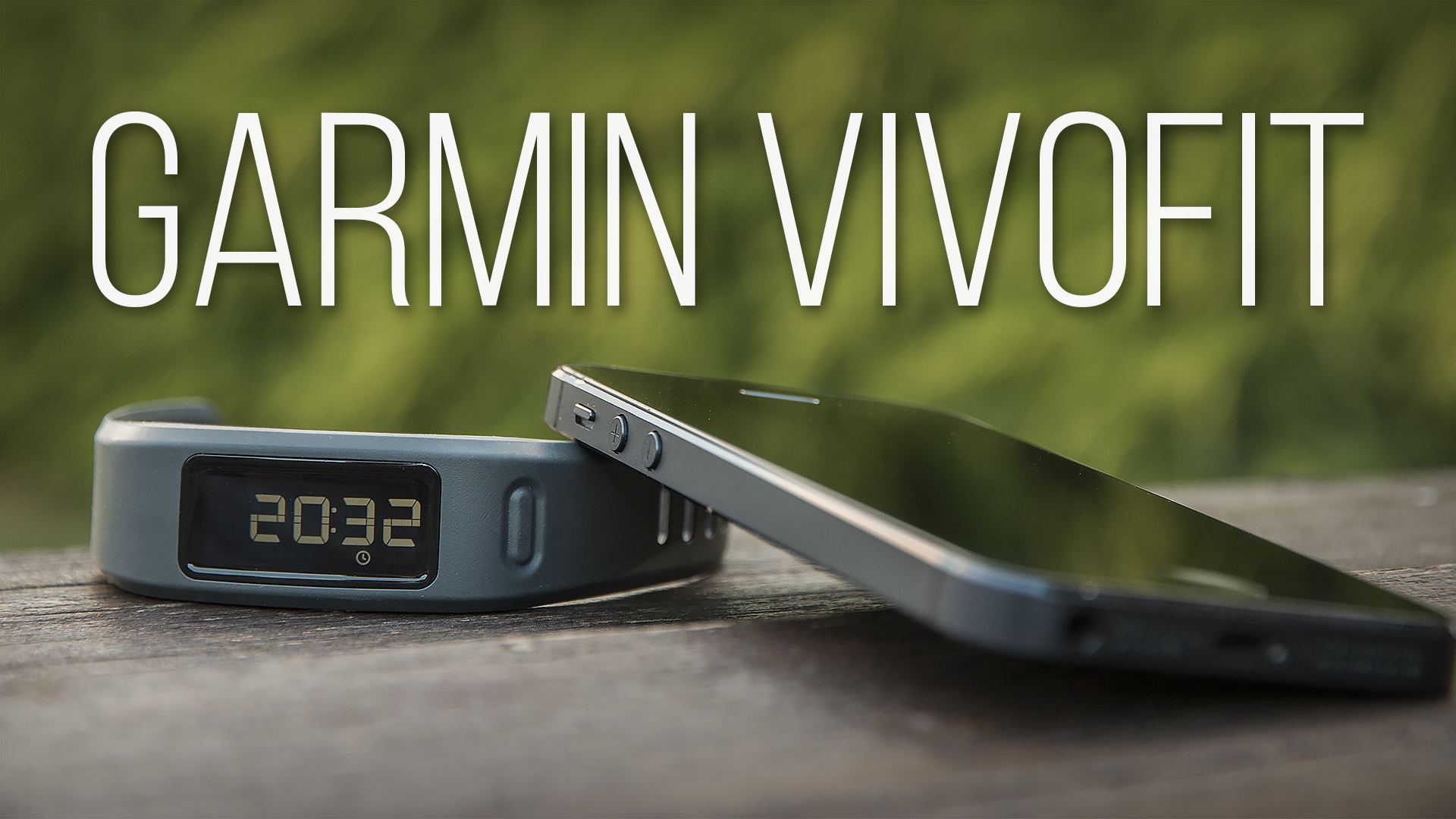 Garmin Vivofit aneb k čemu jsou chytré náramky