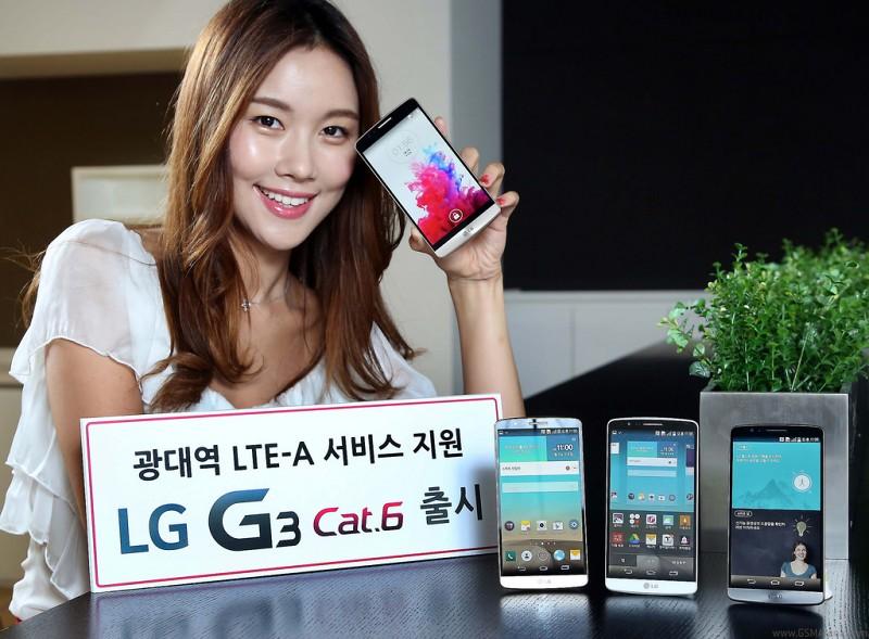 LG G3 LTE-A představeno v čele se Snapdragonem 805