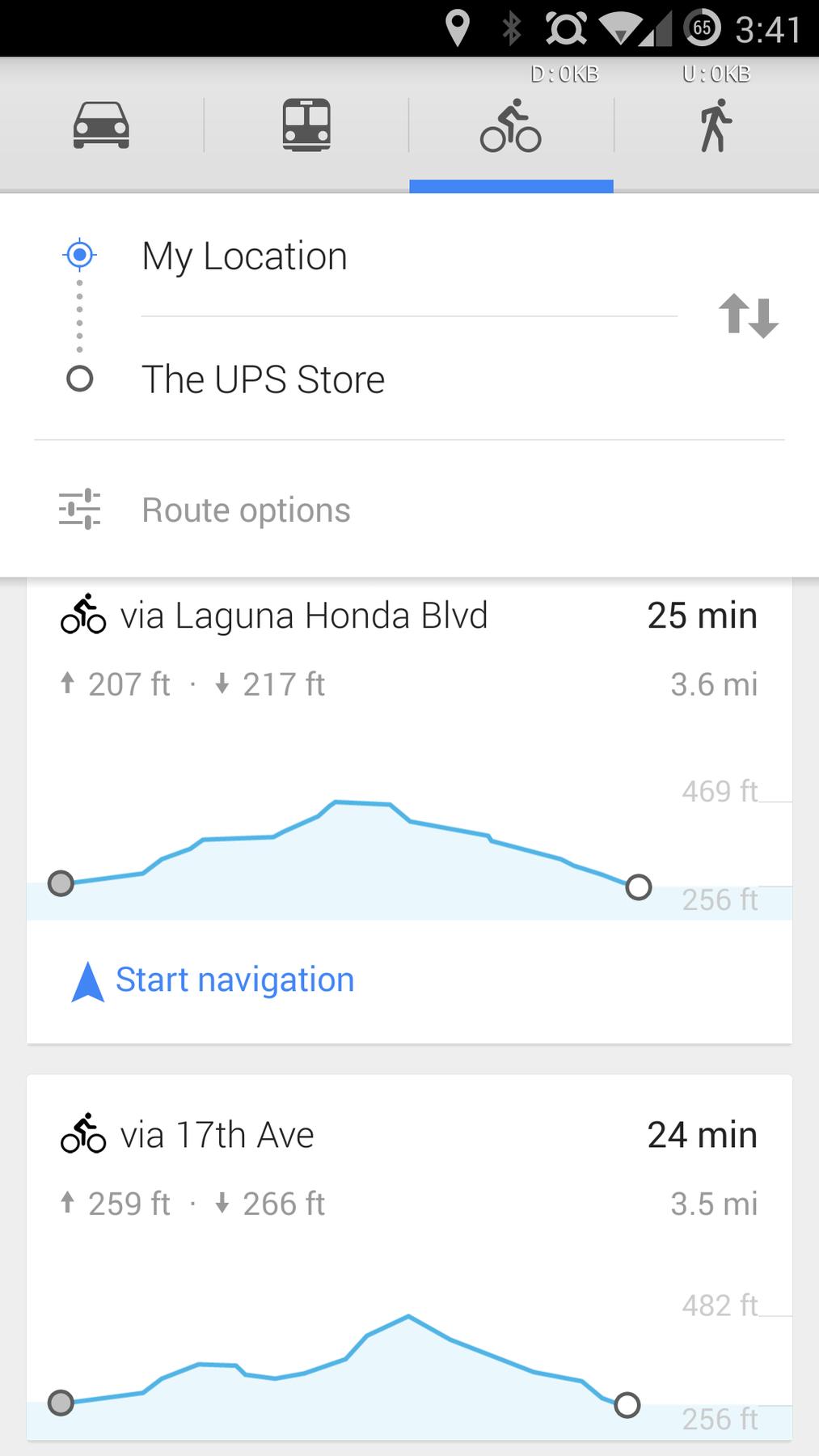Mapy Google byly aktualizovány