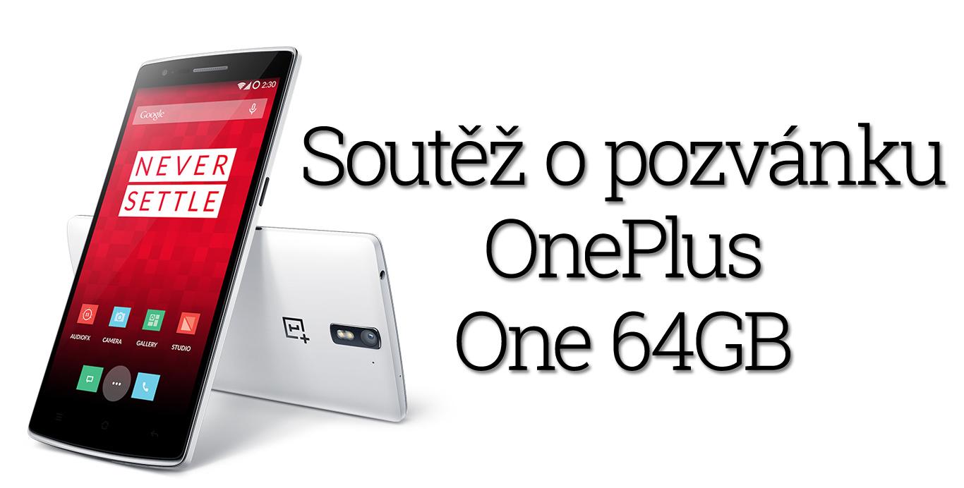 """[Vyhlášení výsledků] Soutěž o """"pozvánku"""" – OnePlus One 64GB"""