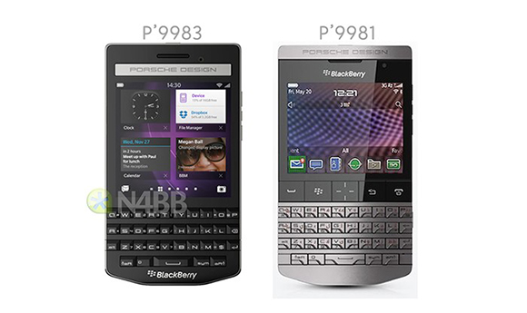 BlackBerry chystá model Porsche Design P9983