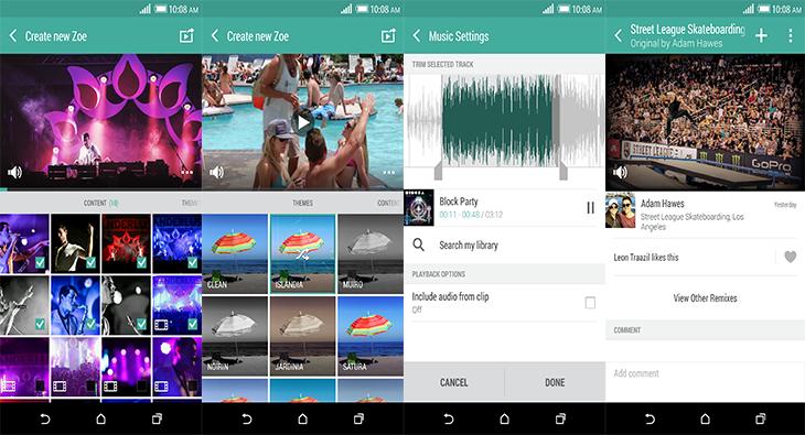 HTC představilo Zoe pro smartphony s Androidem 4.4