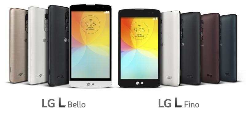 LG odhalilo modely L Fino a L Bello