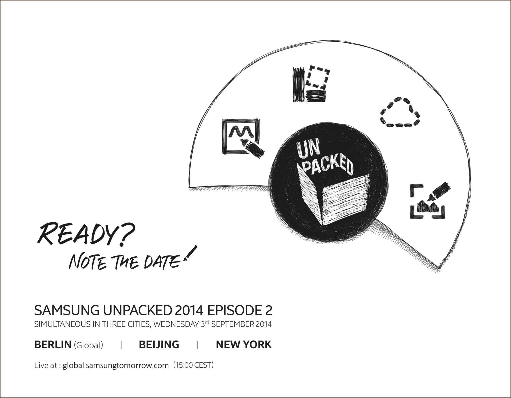 Galaxy Note 4 – Samsung zveřejnil datum představení
