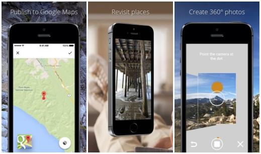 Google představil aplikaci Photo Sphere Camera pro iOS