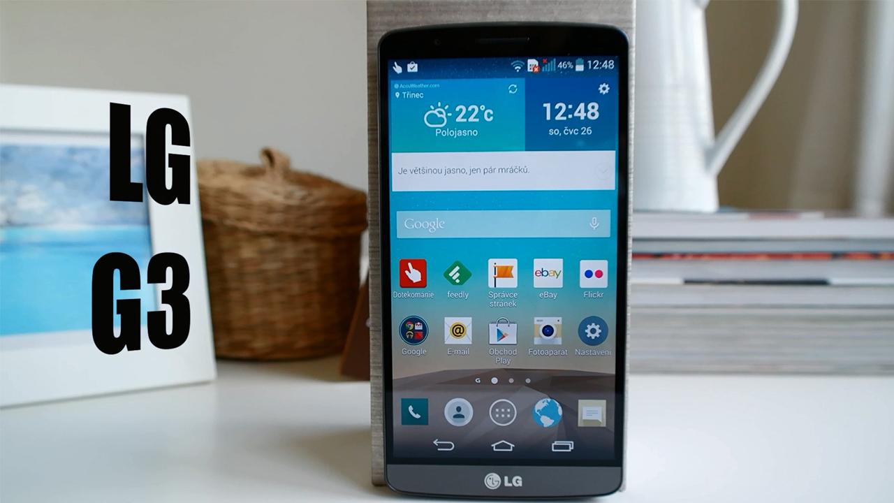 LG G3 – videorecenze
