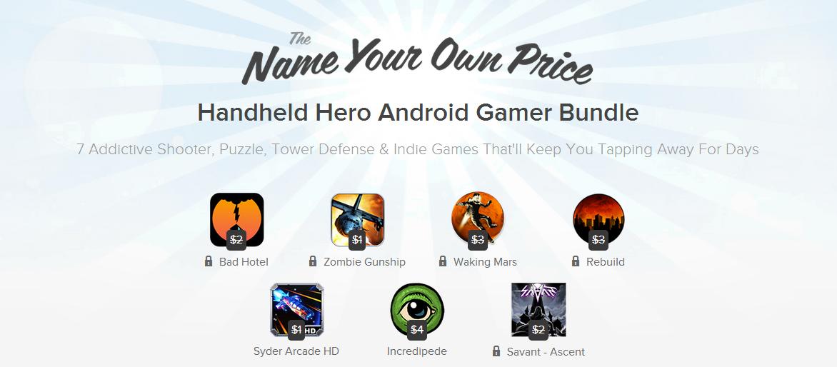 Zajímavá nabídka balíčku her pro Android
