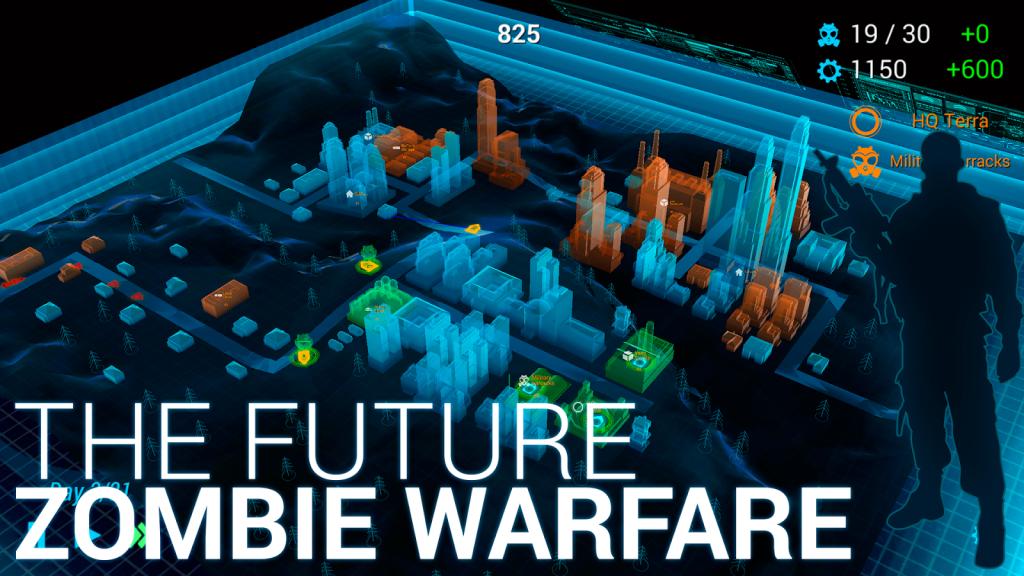 Zombie City Defense – Holografická zombie řežba