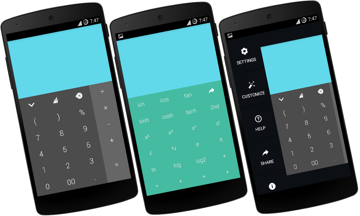 Calc+ – krásný vzhled a promyšlená funkčnost [Android]