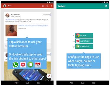 TapPath – bič na odkazy v aplikacích [Android]