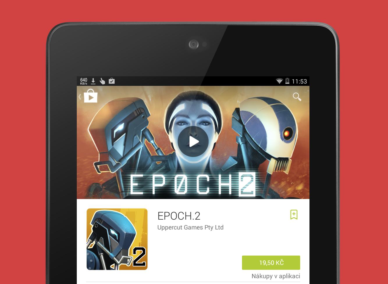 Ušetřete, Obchod Play nabízí několik skvělých aplikací a her ve slevě