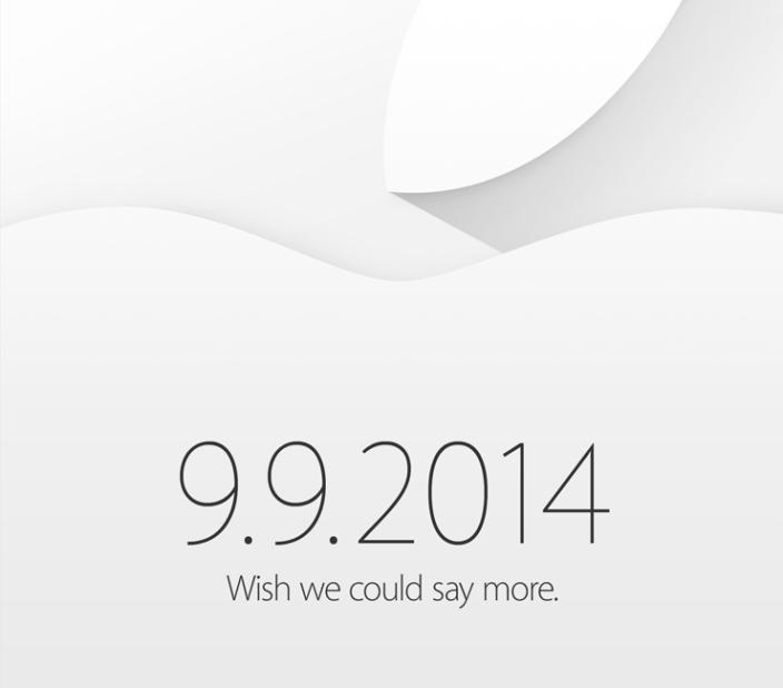 Apple rozeslal pozvánky – nové iPhony přijdou 9. září