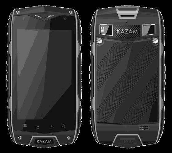KAZAM představil dvojici odolných telefonů