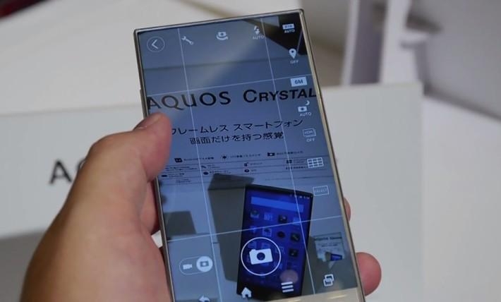 Aquos Crystal – smartphone s nejužším rámečkem okolo displeje