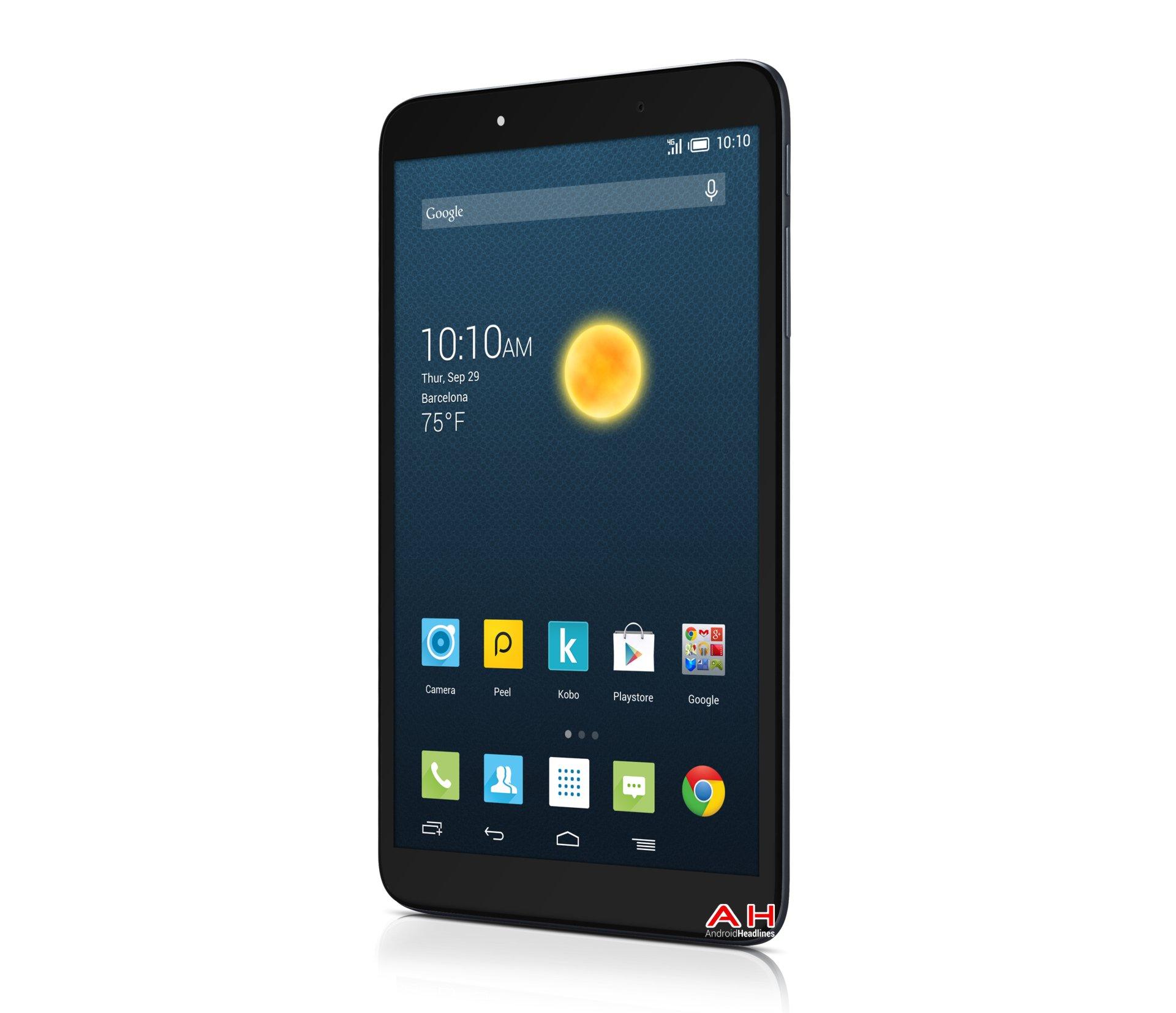 Alcatel Onetouch Hero 8 – tablet s 8jádrovým procesorem