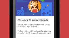 Hangouts získaly podporu hlasového volání a Material Design [APK ke stažení]