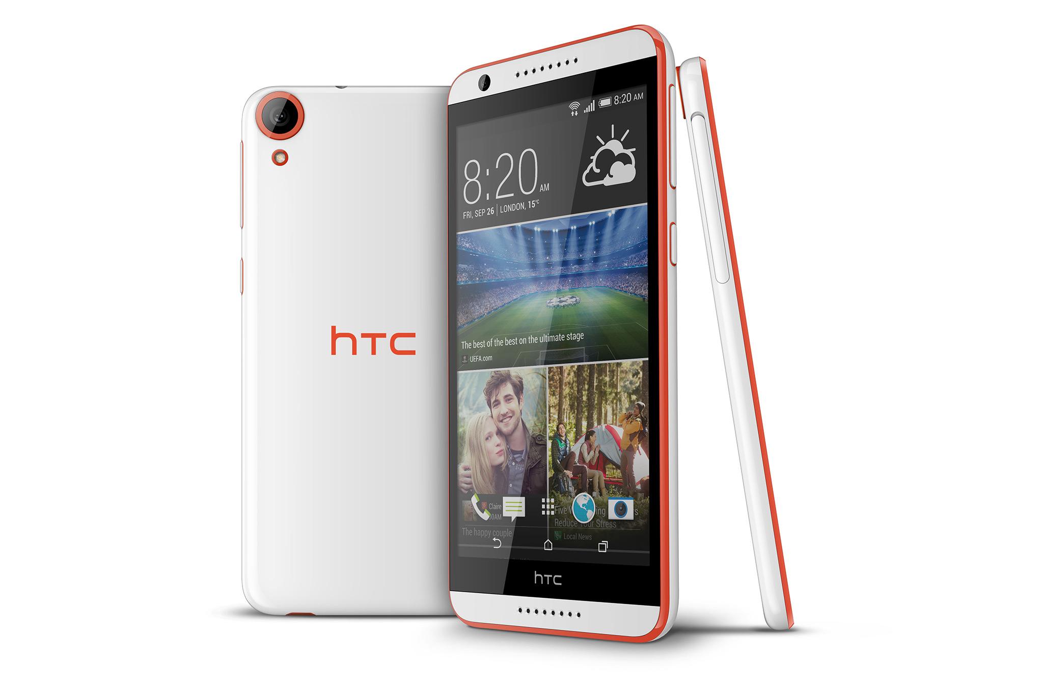 HTC Desire 820 – novinka s 64bitovým procesorem