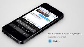 Klávesnice Fleksy vyšla na iOS 8