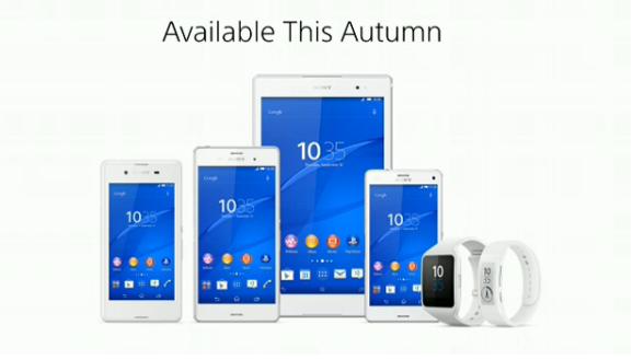 Sony představilo Smartwatch3, SmartBand Talk, Xperii Z3, Compact a Tablet Compact