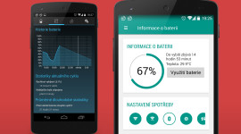 Battery Widget Reborn 2.0 s Material Designem [beta]