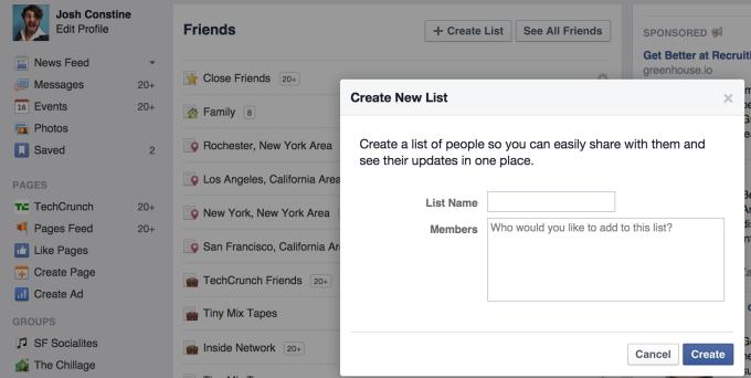 facebook-list-creator