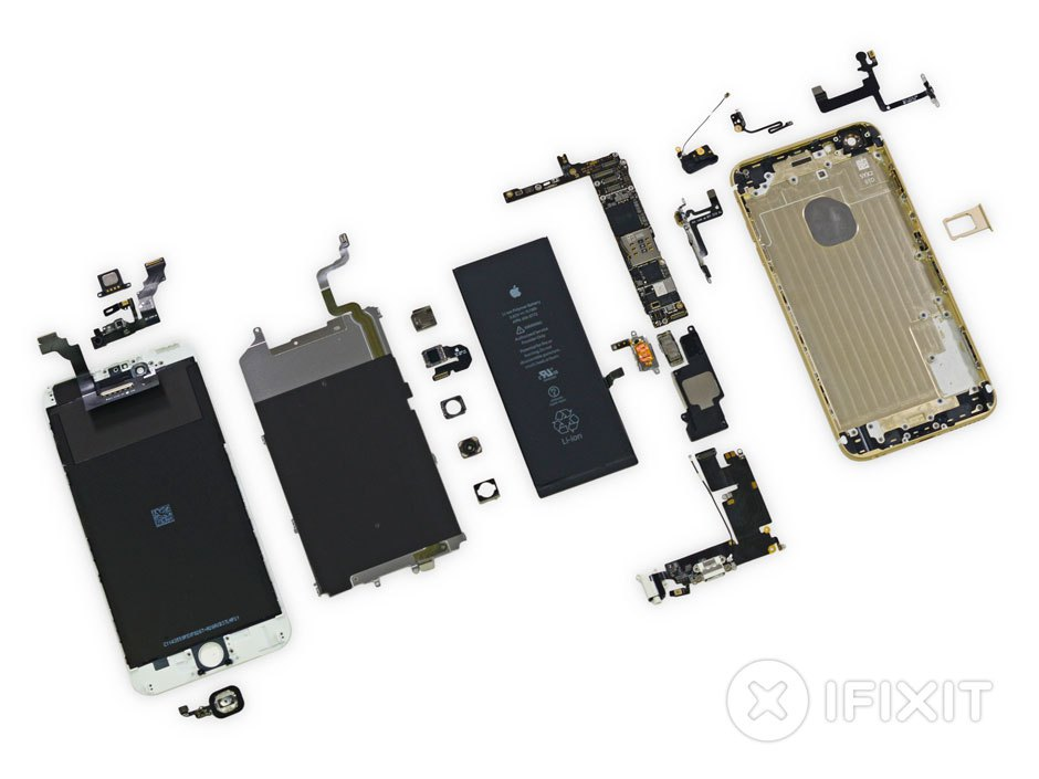 Výrobní náklady u iPhonu 6 a 6 Plus jsou známy