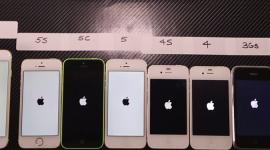 Všechny iPhony v porovnání rychlosti