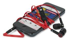 new earphones red2