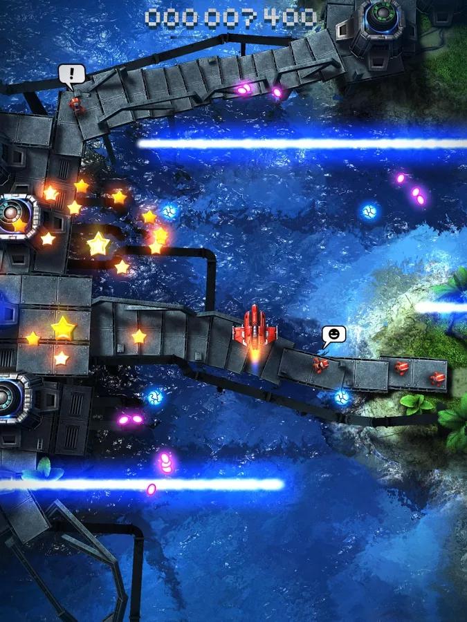 Perfektní grafika a výborně vypadající efekty – Sky Force 2014 [iOS, Android]