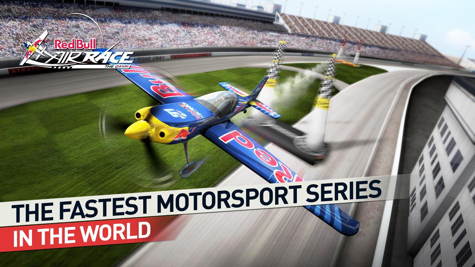 Vyzkoušejte letecké závody v Red Bull Air Race The Game