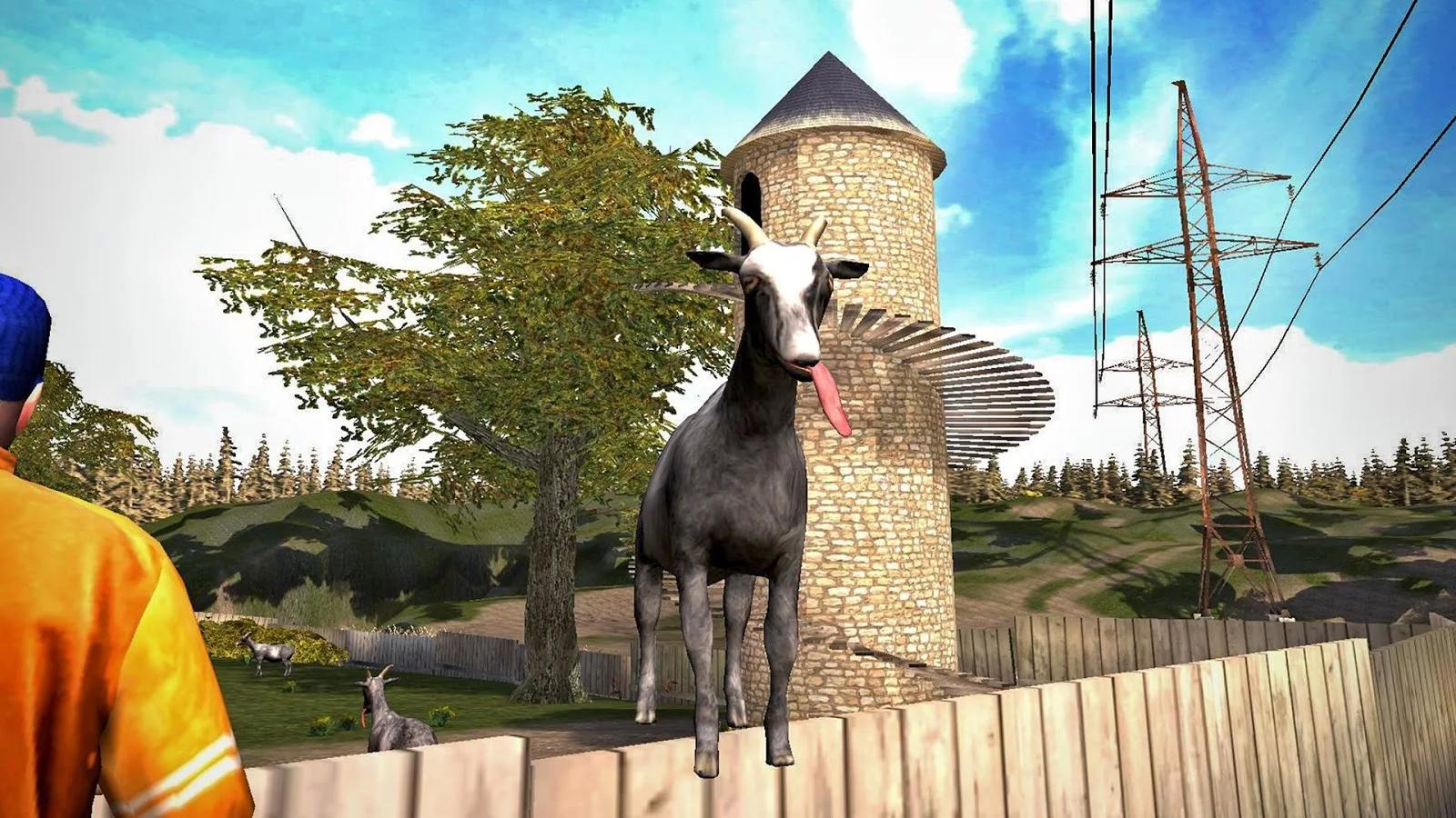 Goat Simulator je oficiálně dostupný pro Android a iOS