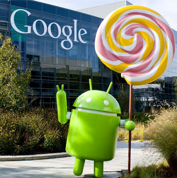 Android-figurka-Lollipop
