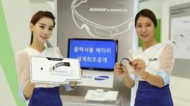 Samsung vytvořil flexibilní a rolovací baterie pro wearable zařízení