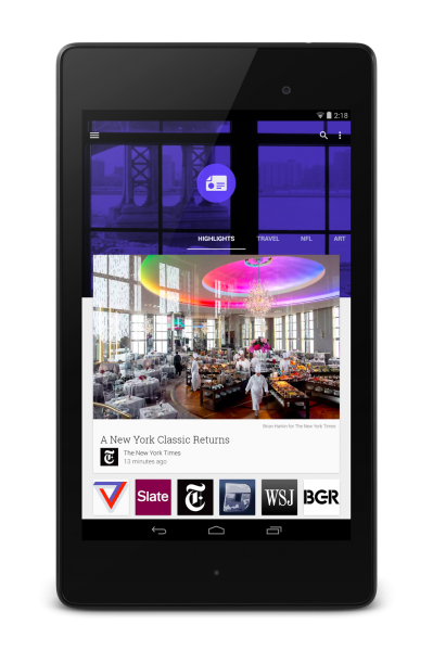 Newsstand - Android Update - N7