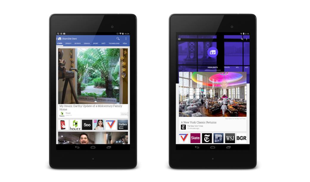Kiosek Google Play nyní v Material Designu [aktualizováno]