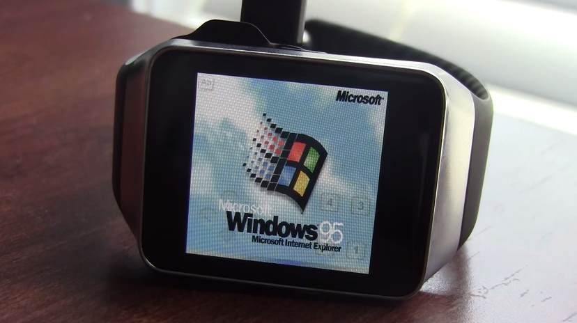 Windows 95 na hodinkách s Android Wear
