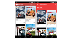 Google Play Filmy také v Material Designu