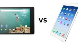Nexus 9 vs. iPad mini 3 vs. iPad mini 2 vs. iPad Air 2 – tabulkové srovnání