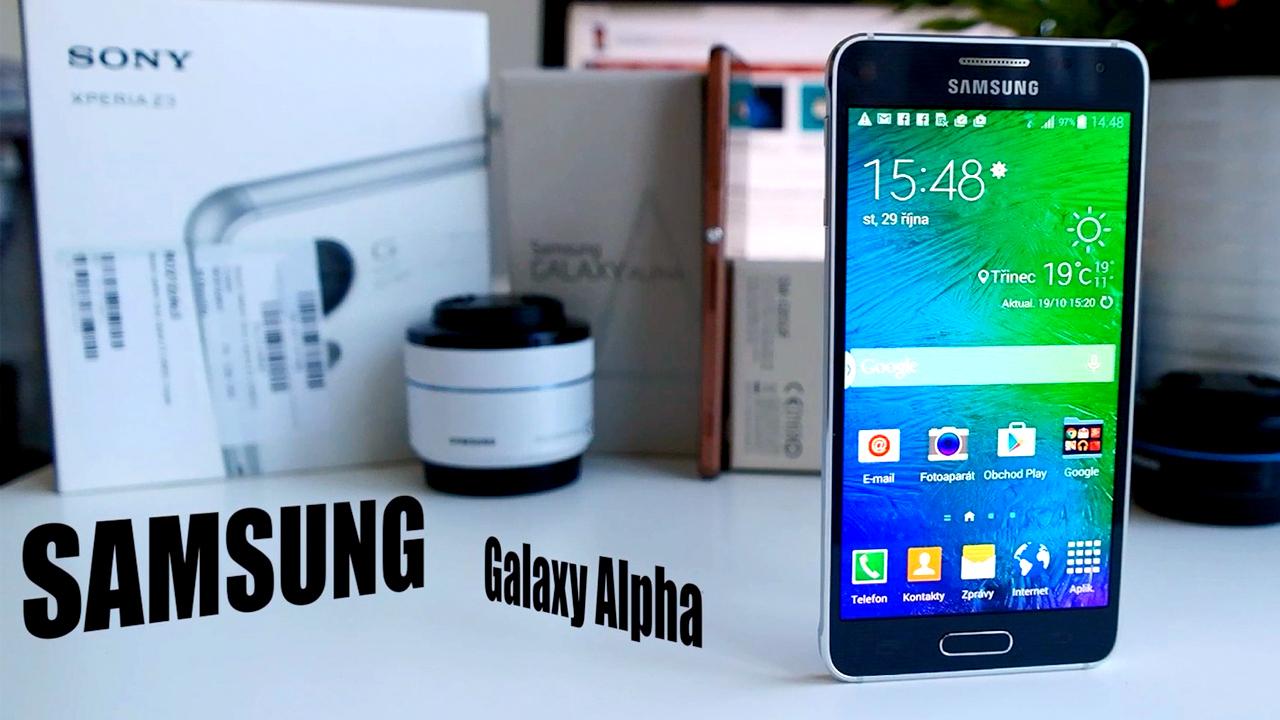 Samsung Galaxy Alpha – videorecenze