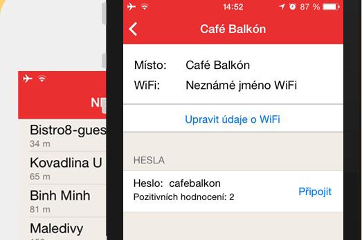 Dotekománie doporučuje #66 – Hesla k Wi-Fi s aplikací Wifič [iOS, Android]