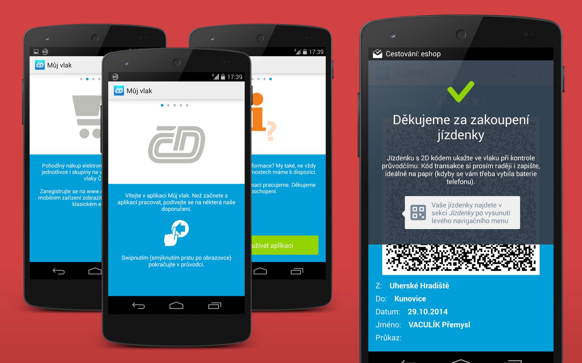 """Aplikace """"Můj vlak"""" od ČD – bez omalovánek a hlavně prakticky"""