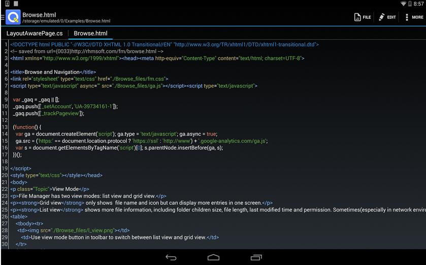 QuickEdit Text Editor – textový editor první třídy s rozsáhlými možnostmi