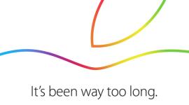 Keynote Applu – představení nových iPadů  [záznam, aktualizováno]